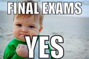 finals exams meme