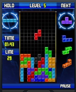 finals week Tetris