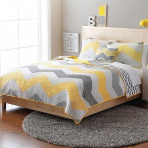 dorm-room-essentials-chevron-bedding