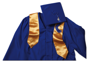 4-7 cap and gown