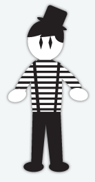 Mime Costume, Halloween Costumes
