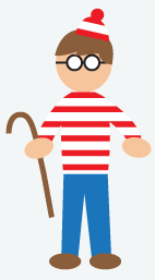 Where's Waldo Costume, Halloween Costumes