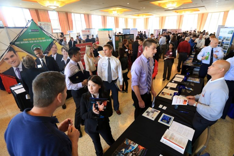 How to Survive Your First Career Fair