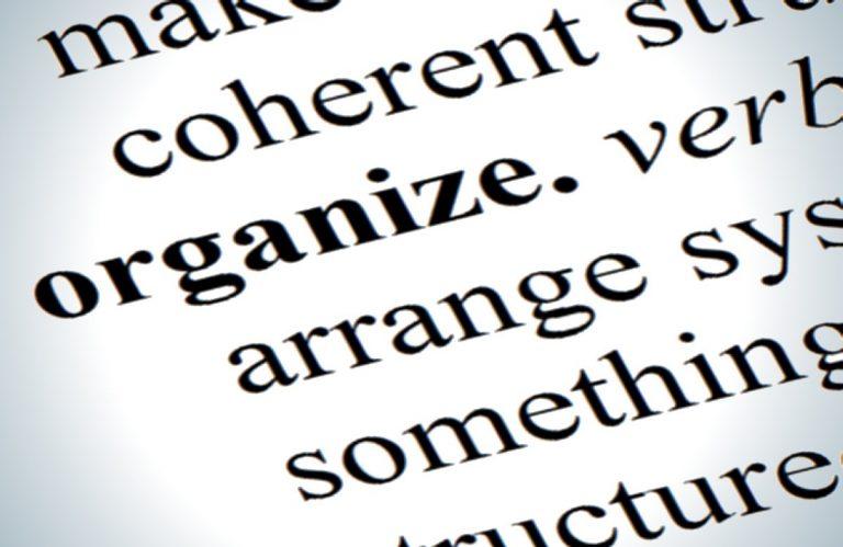 4 Habits of Organized People